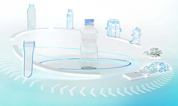 Krones, contiform, sostenibilidad, K2019, prefoprmas de pet, estirado soplado, rPET, pet reciclado, botellas de pet, botellas de plástico, sostenibilidad, medio ambiente, MHT, Dekron, impresión