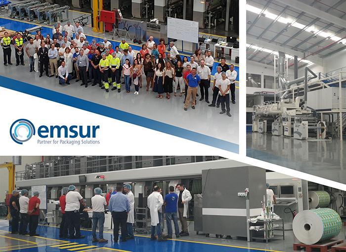 Inauguración de las nuevas instalaciones de Emsur Madrid.