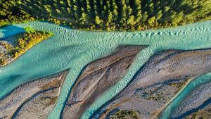 río sin plásticos