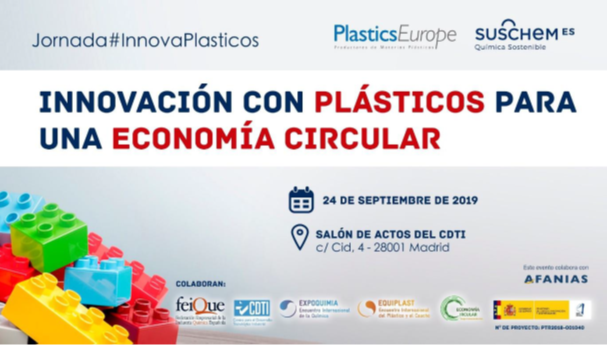 Vuelve la jornada Innovación con Plásticos para una Economía Circular