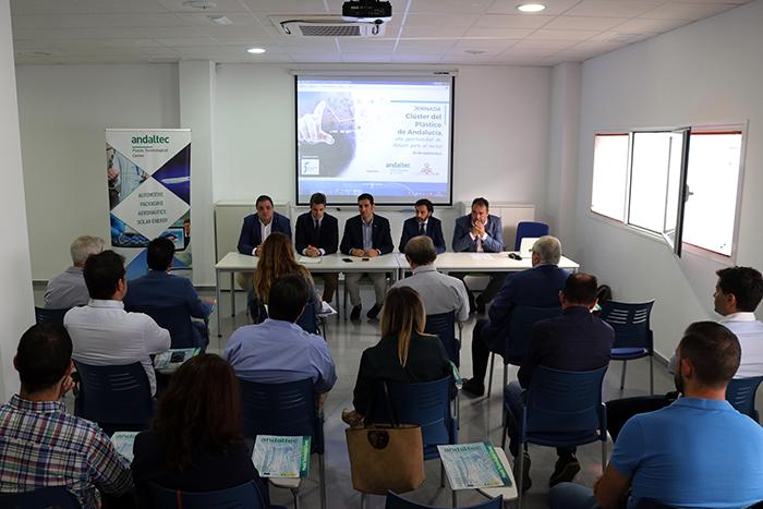 Andaltec impulsa la creación de un clúster del plástico en Andalucía