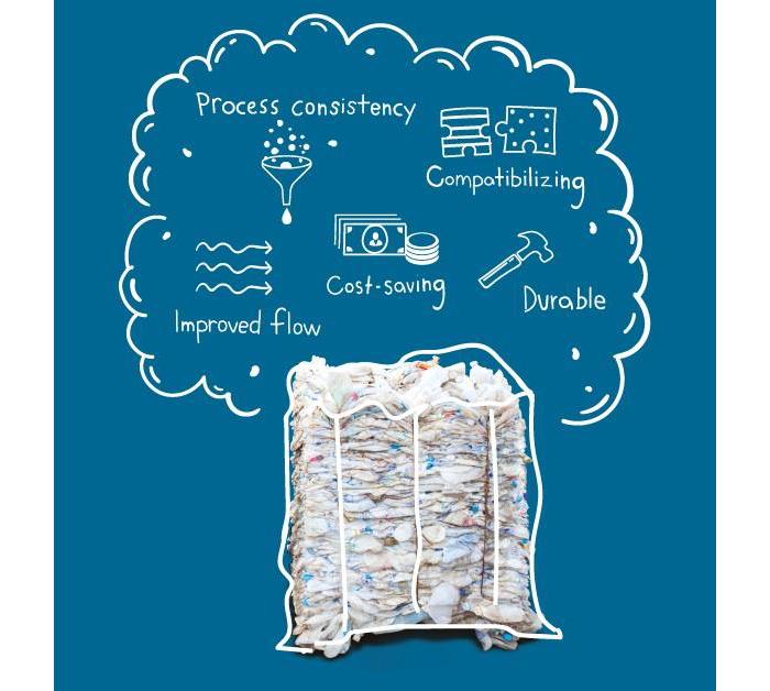 Plástico reciclado de más valor, gracias a Rethink Recycle de ExxonMobil