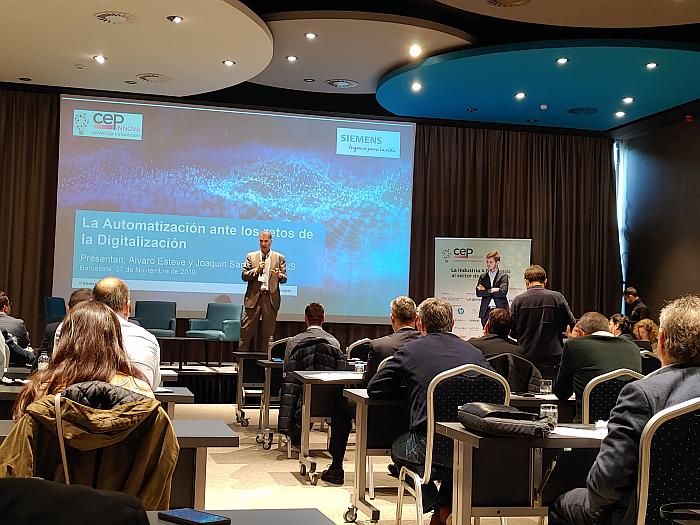 Cerca de un centenar de profesionales participa en la jornada CEP Innova sobre Industria 4.0