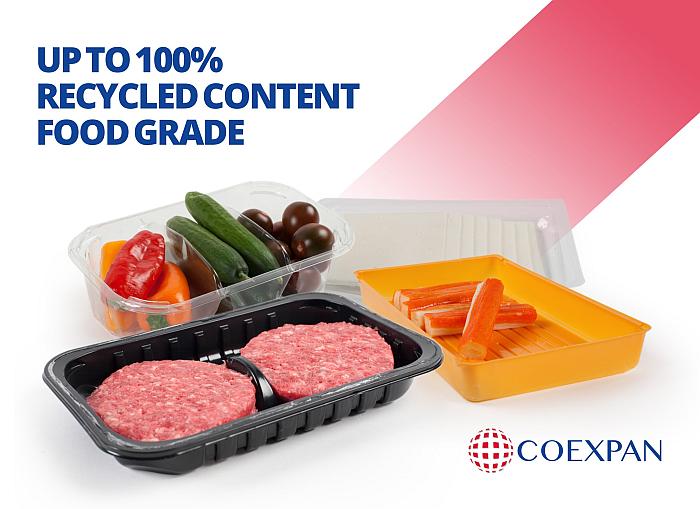 Coexpan lanza CorePET, láminas de PET reciclado para contacto alimentario