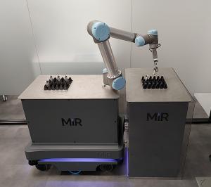 robots de Universal Robots y MiR