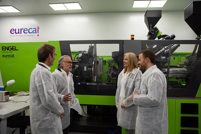 Eurecat inaugura una planta piloto de plastrónica