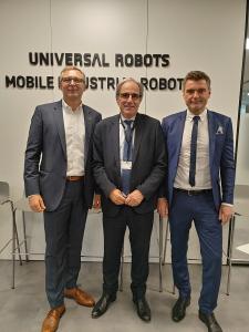 Inauguración instalaciones de UR y MiR en Barcelona