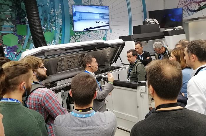 Más de un centenar de profesionales del plástico visitan las instalaciones de HP 3D Printing en Barcelona
