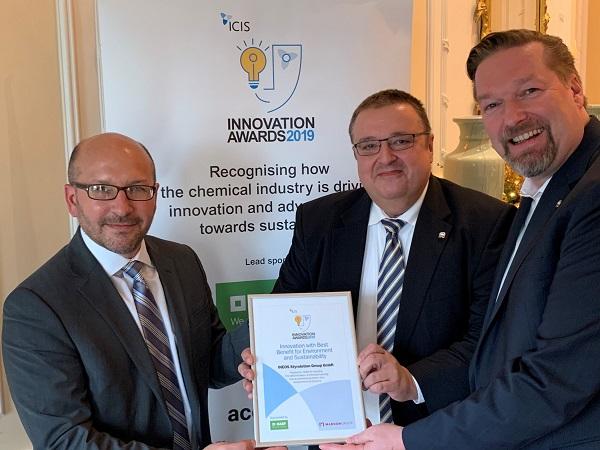 Premio INEOS reciclaje químico poliestireno