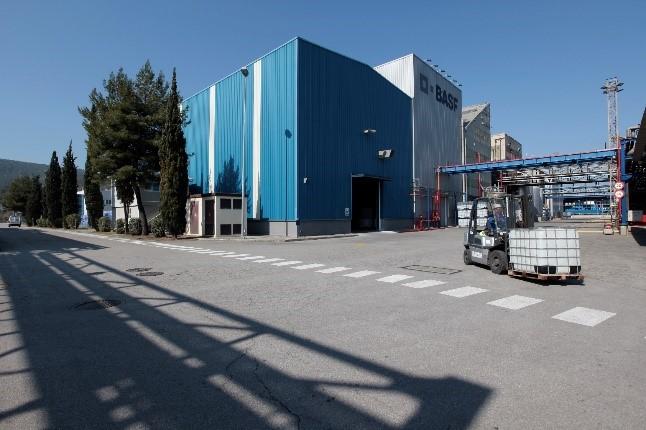 BASF ampliará su planta de dispersiones de poliuretano de Castellbisbal