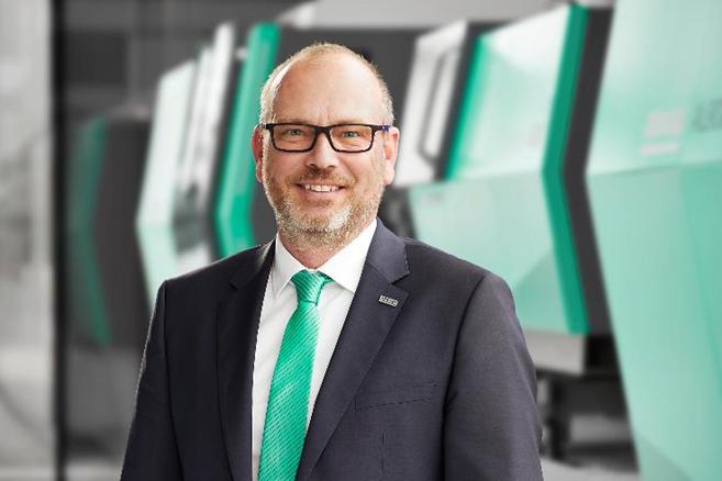 Guido Frohnhaus, director de tecnología e Ingeniería de Arburg.