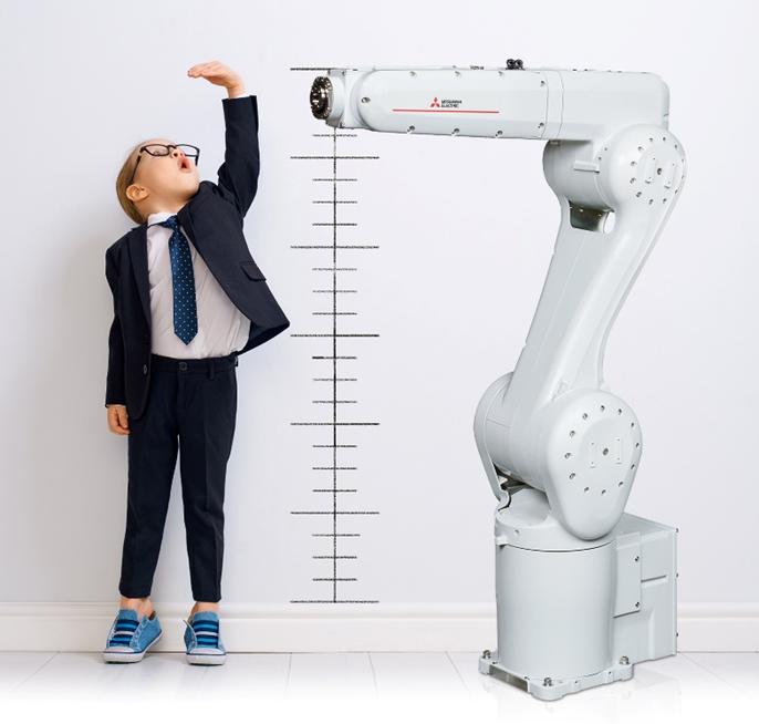 Robot RV-8CRL de 8 kg, de Mitsubishi Electric