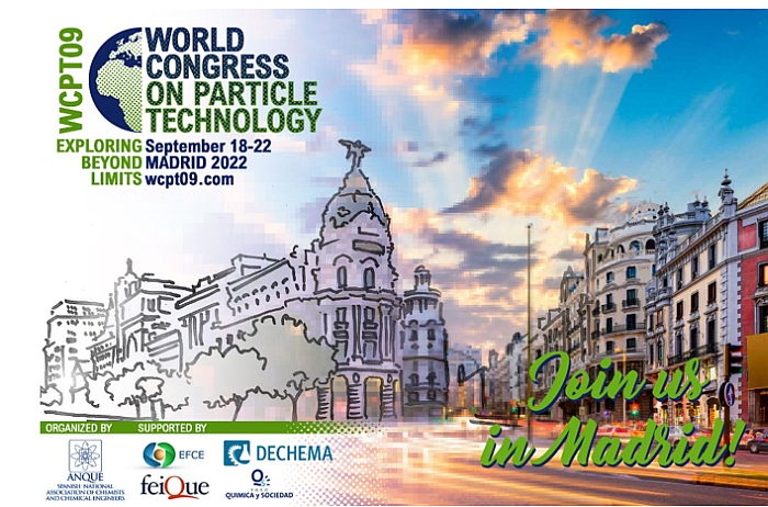 9 congreso mundial de tecnología de partículas