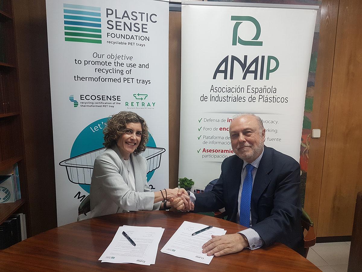 ANAIP y Plastic Sense colaborarán para promover el reciclaje de plásticos