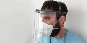 protector facial HP