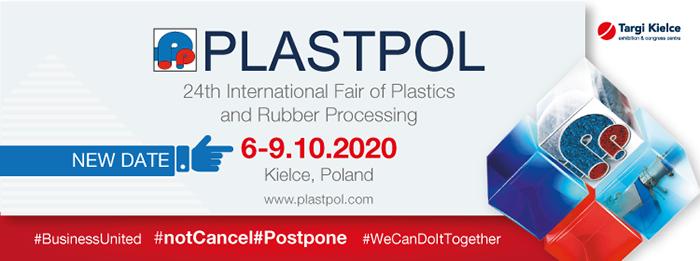 Plastpol 2020 pasa de mayo a octubre