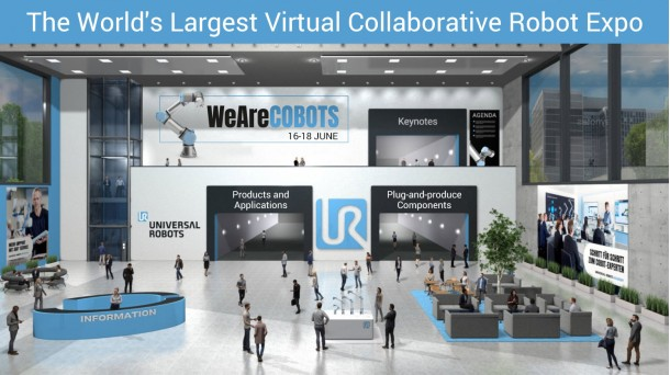 Congreso virtual WeAreCOBOTS de Universal Robots
