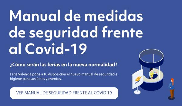 Así es el protocolo de seguridad de Feria Valencia por el COVID-19