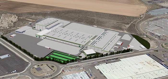 Sphere invertirá 32 millones de euros en sus nuevas instalaciones de Pedrola (Zaragoza)