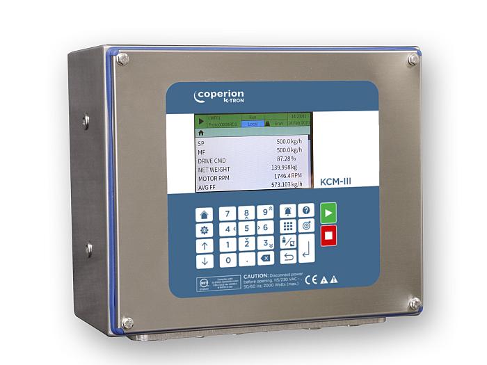 Control de dosificador KCM-III, de Coperion K-Tron