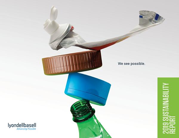 Lyondellbasell sostenibilidad, plástico reciclado, empresa sostenible
