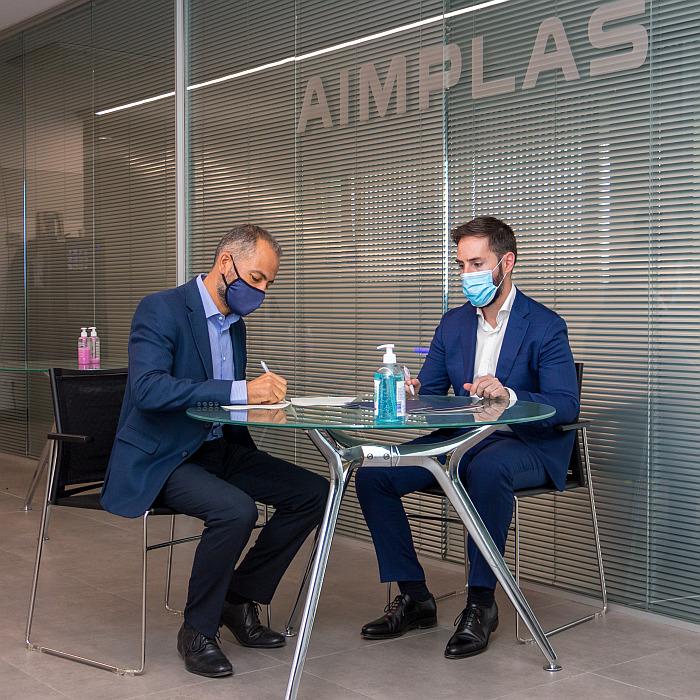 AIMPLAS ANARPLA, acuerdo de colaboración aimplas anarpla, anarpla recicladores de plástico, anarpla ventajas servicios AIMPLAS