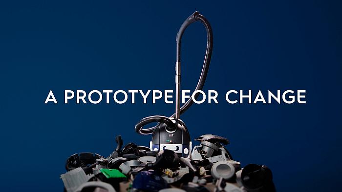 aspiradora plástico reciclado, Electrolux plástico reciclado, electrodomésticos con plástico reciclado, economía circular