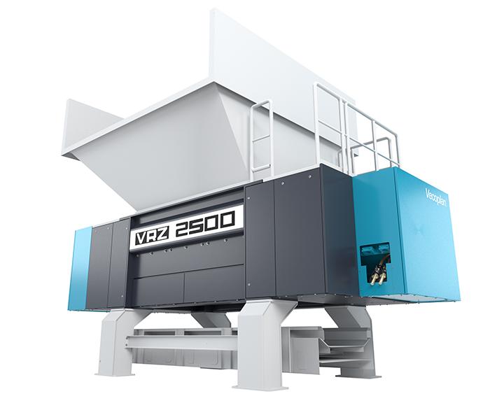 vecoplan VRZ, triturador vecoplan VRZ, Molino vecoplan, molino triturador VRZ, reciclado de plásticos, Vecoplan