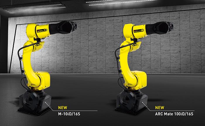 robot fanuc m-10id/16S, robot industrial, robot fanuc, robot M-10iD/16S, M10iD16/S, celdas compactas