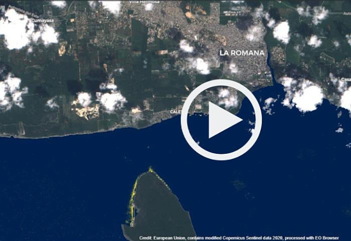 Fregata, Fregata Space, detección satelital de residuos plásticos, marine litter, basura plástica marina, basura marina