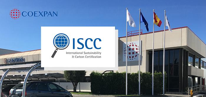 Coexpan certificación ISCC Plus