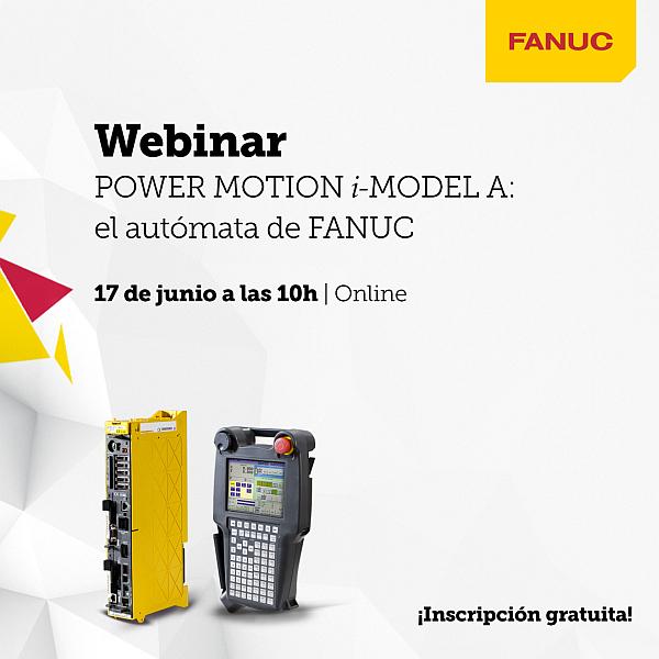 Fanuc webinar, Fanuc autómata, Fanuc Iberia