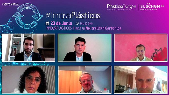 #InnovaPlásticos, neutralidad en carbono, plásticos