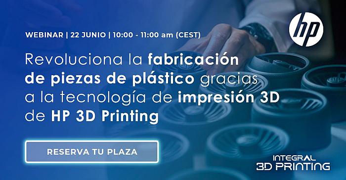 webinar 3D Printing, impresión 3D HP