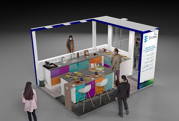 Cocina Ercros en Expoquimia.
