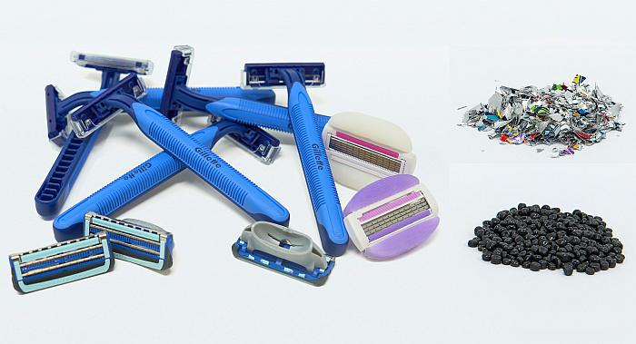 Gillette reciclaje maquinillas de afeitar
